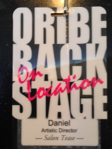 The lanyard for Daniel for the ORIBE class in Atlanta