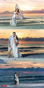 Salon Tease Marco Island Trash The Dress with Little Maria