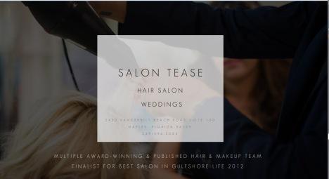 Salon Tease New Website