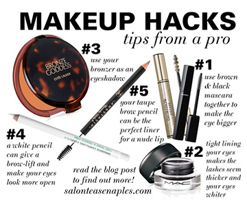 Salon Tease Makeup Hacks