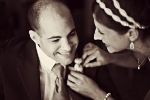 Loved this intimate moment between the bride and her brother