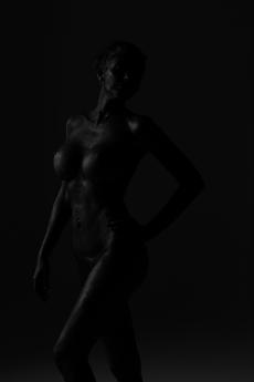 Salon Tease Painted Black Boudior7