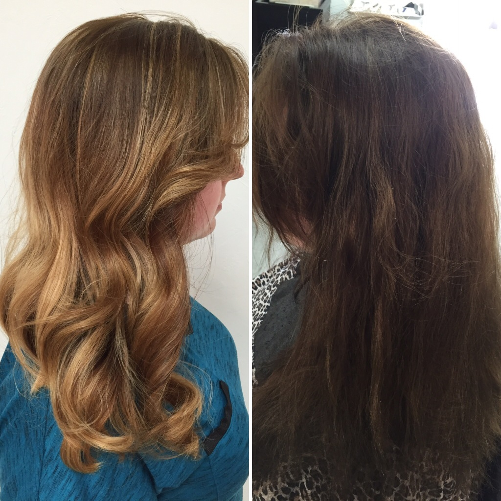 Color Correction From Faded Box Color To An Amazing Ombre Salon
